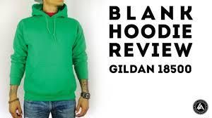 Gildan 18500 Size Chart Blank Pull Over Hoodie Review Gildan Heavy Blend