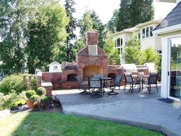 Small Picture Built In Wall Brick Patio Fireplaces Ideas Creative Fireplaces
