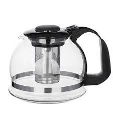 <b>Чайник заварочный 1</b>,5 л, стеклянный в магазинах Галамарт