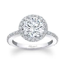 barkev s halo engagement ring 7839l
