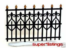 wrought iron fence victorian. 56 Victorian Wrought Iron Fence \u0026 Gate HV 52523 | #118163086 Wrought Iron Fence Victorian T