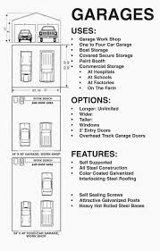 Garage Door Dimensions Single Car  WageuziDimensions Of One Car Garage