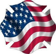 Image result for american flag fireman