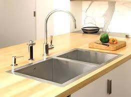 no plumbing sink top mount sink atelier double kitchen sink top mount kitchen sink no holes
