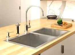 no plumbing sink top mount sink atelier double kitchen sink top mount kitchen sink no holes
