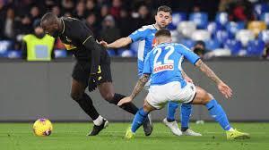Napoli-Inter 1-3, decisivi Lukaku e Lautaro. Nerazzurri in ...