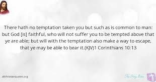 Faithful Christian Quotes Best Of The Holy Bible Quote About Man Suffer Faithful Temptations