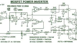 Inverter Circuit Design Using Mosfet 4dedf3 1000w Power Inverter Circuit Scheme Wiring Resources