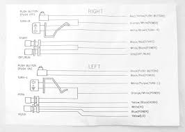 black switches and wire harness for 2007 09 harley davidson hand Harley Wiring Diagrams PDF at Harley Davidson Roll Off Switch Wiring Diagram