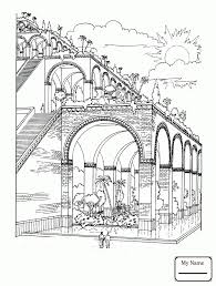 Colosseum In The Clouds arts culture sightseeing coloring pages ...