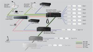 products toa electronics voice evacuation diagram