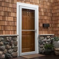 aluminum exterior storm doors