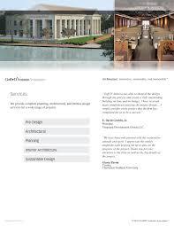 Services Brochure | Goff D' Antonio Associates - Development Site
