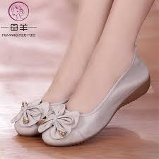 MUYANG <b>Plus Size</b>(<b>35 42</b>) Ballet Flats 2019 Shoes <b>Woman</b> ...