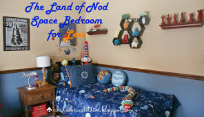 how to create a land of nod boy s space themed bedroom on a budget
