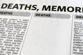 How To Write A Great Obituary Funeral Basics