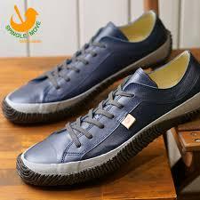 スピングルムーブ spingle move spm 110 kangaroo leather sneakers men gap dis shoes shoes navy