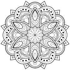 Mandala Coloring Pages Free Animal Mandala Coloring Pages Free