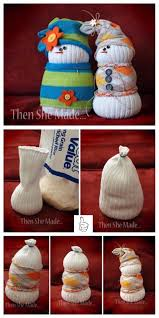 diy sock snowman crafts diy decorative sock snowman tutorial