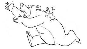 Disegni Di Masha E Orso Da Colorare Masha E Orso Disegni Dei Cartoni