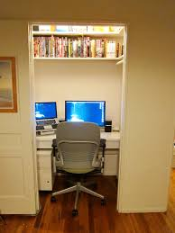 office in a wardrobe. Closet Home Office. Before Office E In A Wardrobe S