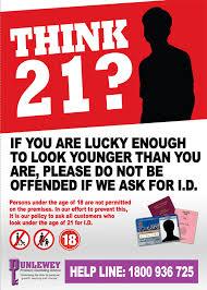 21 Poster Bookmakers Irish Underage Association Gambling Think -