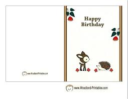 Printable Free Birthday Cards Developmentbox