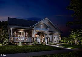 outdoor home lighting ideas. before after lighting designs outdoor home ideas