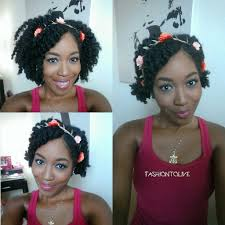 Natural Hair 3 Easy Summer Hairstyles With A Flower Crown Youtube