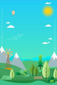 Summer Outdoor Travel Geometric Change Blue Background Summer