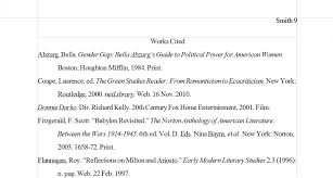 Madison Mla Works Cited Page Basic Format Example