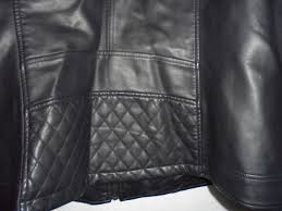 new dressbarn roz ali removable hooded black faux leather jacket plus size 2x