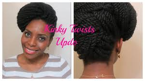 You Tube Hair Style 73 kinky twists updo natura hair style youtube 8909 by wearticles.com