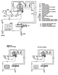 volvo 760 (1990) wiring diagrams charging system carknowledge 1990 5 0 Eec Wiring Diagram volvo 760 wiring diagram charging system 1990 Ford 5.0