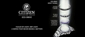 how eco drive works citizen or diamond
