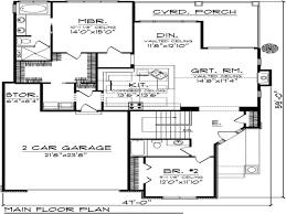 Bedroom Cottage House Plans Bedroom House Plans   Garage