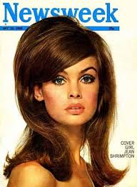 makeup trends in 60s shrimpton hairstyle