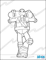Small Picture Coloring Pages Ninja Turtle Coloring Pages Hellokids Online