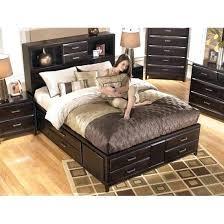 Kira Queen Bed With Storage Queen Storage Bedroom Set 2 Bed With ...