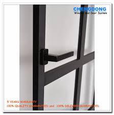 aluminum half glass door design screen door panel sliding door for bathroom commercial aluminum glass door frame single panel sliding door fire