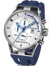 locman watches locman mens watches locman locman mens monte cristo oversize titanium water resistant chrono watch blue 510whblbl