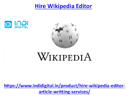Photo Editor Wikipedia What Is Hire Wikipedia Editor
