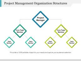 Project Management Organization Structures Ppt Powerpoint