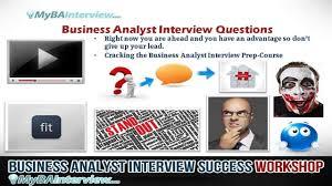 ba interview workshop business analyst interview questions ba interview workshop business analyst interview questions video 5 of 6