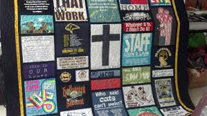 tshirt quilt | Maria The Quilter & Tshirt quilt with precise instructions from the mom Adamdwight.com