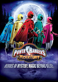 power rangers for�a mistica capa poster