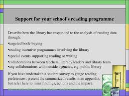 school library reporting advice 7