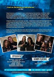 Heavy Metal Genealogy Chart Metal Evolution Dvd Region 1 Us Import Ntsc Amazon Co Uk