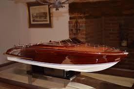 model riva rama 67 cm precious wooden boat model