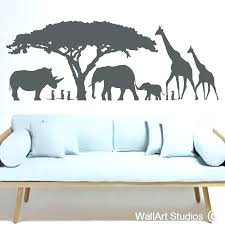 >nursery animal wall art wall art for baby rooms wall art ideas  nursery animal wall art animal wall art animal wall art 4 stickers safari animal metal wall